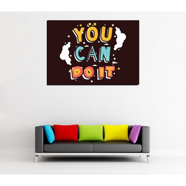 You Can Do It Canvas Frames