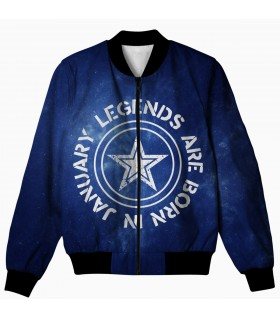 legends january all over printed jacket