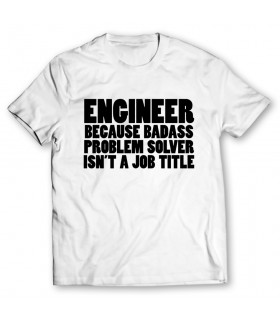 Engineer printed graphic t-shirt