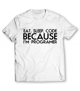 programer printed graphic t-shirt