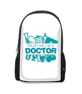 doctor printed backpacks