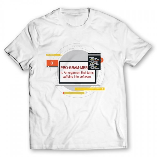 programmer printed graphic t-shirt Price in Pakistan - TheWarehouse