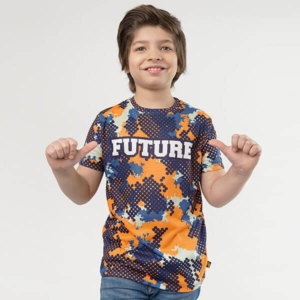 Future KIDS ALL-OVER PRINT T-SHIRT