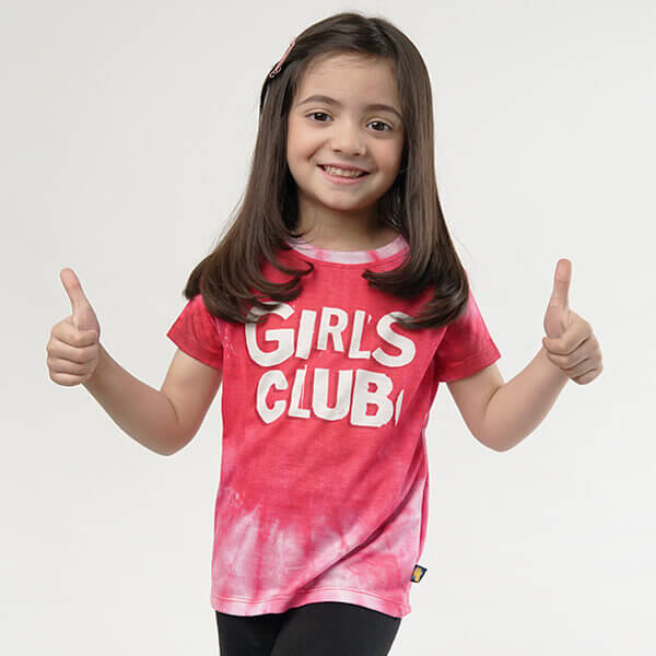 Girls Club KIDS ALL-OVER PRINT T-SHIRT