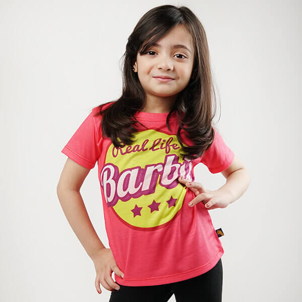 Real Life Barbie Kids All-Over Print T-Shirt