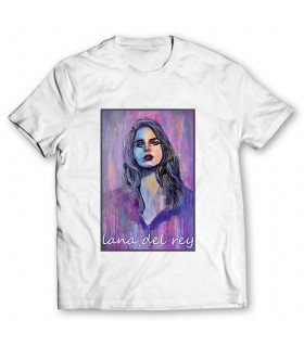 lana del rey printed graphic t-shirt
