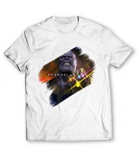 thanos printed graphic t-shirt