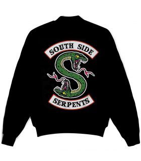 South side serpents all over printed jacket