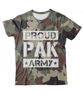 Proud Pak Army All Over Printed T-Shirt