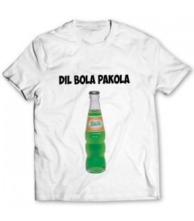 Dil bola pakola printed graphic t-shirt
