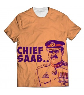 chief saab all over printed t-shirt