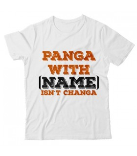 Panga with Printed Graphic T-shirt
