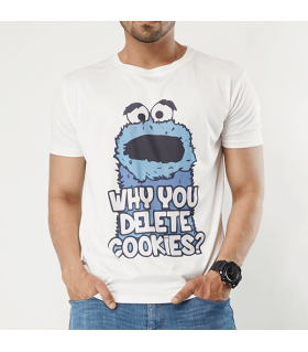 cookies printed graphic t-shirt