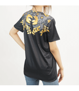 Black X UNISEX ALL-OVER PRINT T-SHIRT