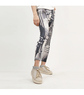 dark city printed legging