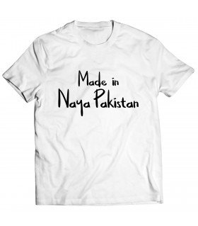 naya pakistan printed graphic t-shirt