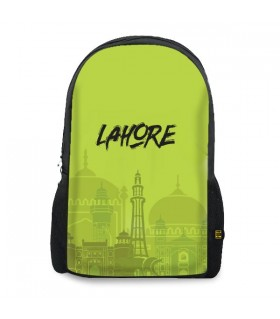 Lahore printed backpacks