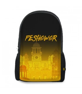 Peshawar printed backpacks