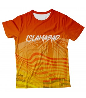 Islamabad all over printed t-shirt