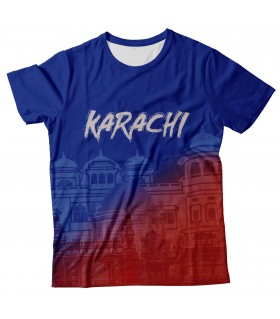 Karachi all over printed t-shirt