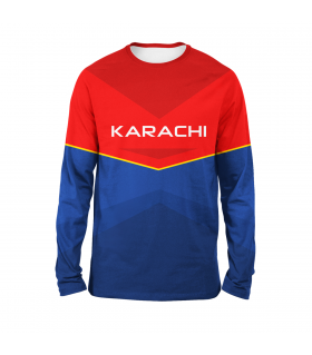 Team Karachi Full Sleeves T-shirt