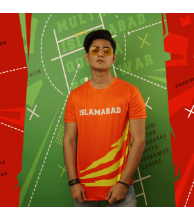 Team Islamabad All Over Printed T-Shirt