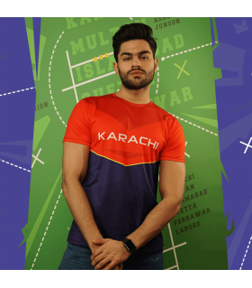 Team Karachi All Over Printed T-Shirt