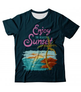 Beautiful Sunset all over printed t-shirt