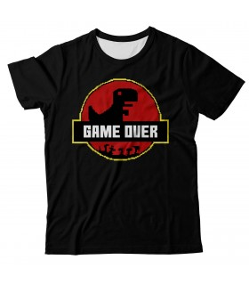 Game Over Park all over printed t-shirt