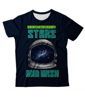 Wish Of The Stars all over printed t-shirt