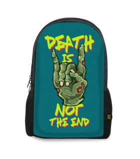 Death Is Not The End printed backpacks