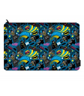batman pattern printed pencil case