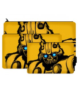bumblebee printed pencil case
