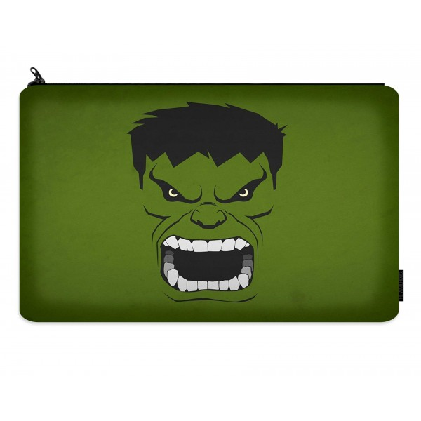 hulk printed pencil case