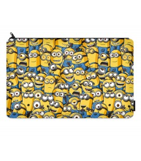 minions printed pencil case