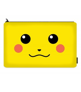 pikachu printed pencil case