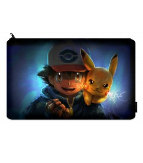 pokemon printed pencil case