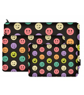 smiles printed pencil case