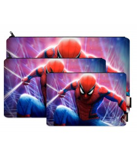spiderman printed pencil case