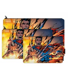 superman printed pencil case