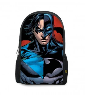 batman printed backpacks
