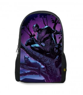 black panther printed backpacks