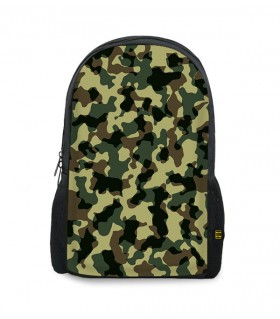 camouflage printed backpacks
