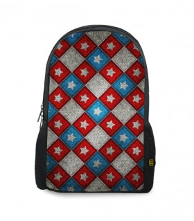 captain america printed backpacks