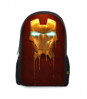 iron man printed backpacks