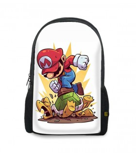 mario printed backpacks