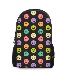 smiles printed backpacks