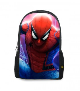 spiderman printed backpacks