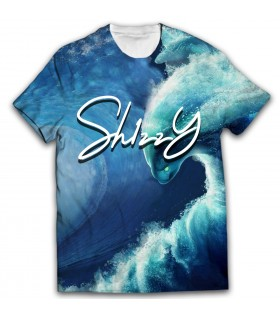 Sh1zzy all over printed t-shirt