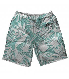 floral pattern printed short